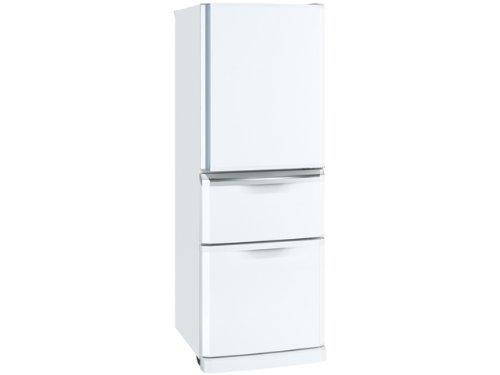 三菱 MR-C34S-W 335L右開き冷蔵庫 (ピュアホワイト)   B004NN5KAU