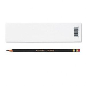 - Prismacolor Col-Erase Erasable Colored Pencil BLACK Set/12