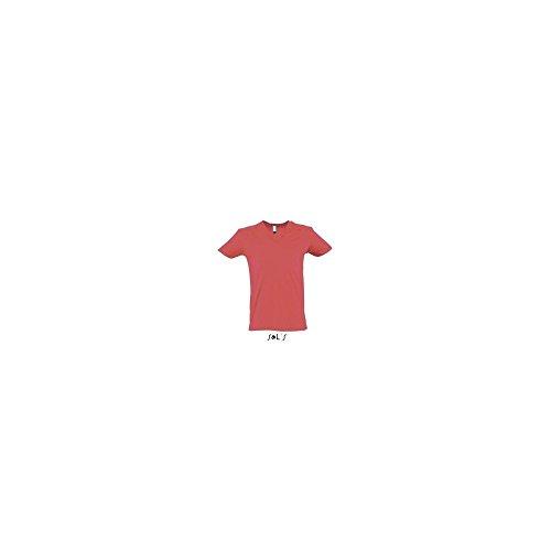 Sols Short Sleeve Tee Camiseta Master Coral