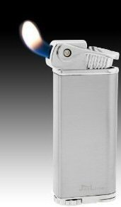 - Silver Jetline Lighter Bolla Soft Flame Pipe Lighter