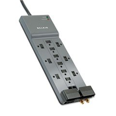 ** Professional Series SurgeMaster Surge Protector, 12 Outlets, 10ft Cord -