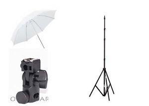 Generic Studio Photo_51 33 Umbrella Light Setup with B-Bracket and Stand (Multicolour) - Pack of 3 Photo Studio & Lighting at amazon