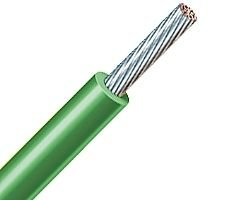 500FT 10 AWG Hook Up Wire FEP Type K MIL-W-16878/11 - Tin Plated Copper - Extruded FEP 200C - 600V - Green by Omni