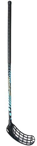 Composite Hockey Blade Carbon Fiber - GRANDCOW Floorball Sticks, Terminator 800 Professional Carbon Fiber Composite Pop Pro-lite Indoor Field Hockey Sticks with Shaft and Blade (Left Hand, 95CM (37INCH))