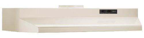 (Broan 423602 ADA Capable Under-Cabinet Range Hood, 190 CFM 36-Inch, Bisque)