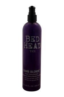 TIGI Bed Head Dumb Blonde Purple Toning Shampoo Shampoo For Unisex
