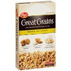 Post Great Grains Banana Nut Crunch Whole Grain Cereal 15.5 (Wholesale Post)