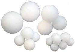 Assortment of (8) Styrofoam Spheres