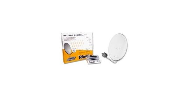 Televes 7525 Kit PARABOLICA Digital: Amazon.es: Electrónica