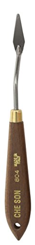 Jack Richeson 500804 1-1/4 x 3/8 Italian Steel Paint Knife by Jack Richeson (Image #1)