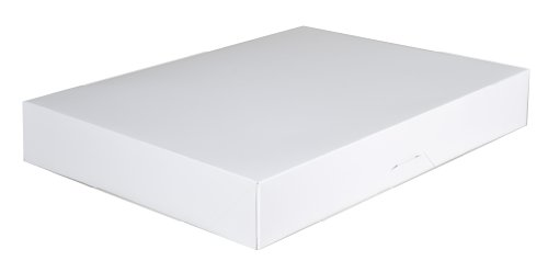 Donut Box - Southern Champion Tray 1239 Paperboard White Bakery Donut Box, 15
