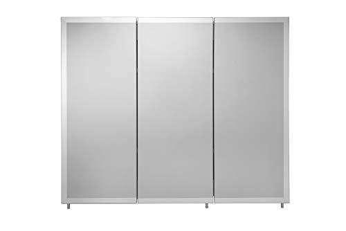 Croydex WC102322AZ Westbourne Triple Door Tri-View Cabinet, 30-Inch x 36-Inch, - Bathroom Mirrors Pegasus