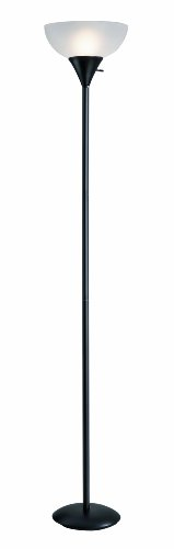 Normande Lighting JS1-161 71-1/4-Inch 150-Watt Incandescent Torchiere Floor Lamp 150w 3 Way Torchiere