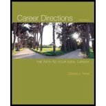Career Directions by Yena, Donna. (McGraw-Hill/Irwin,2010) [Paperback] 5th Edition