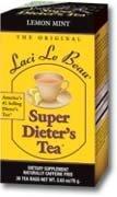 Laci Le Beau Maximum Strength Super Dieter's Tea Lemon Mint -- 12 Tea Bags Laci Le Beau Super Dieters Tea