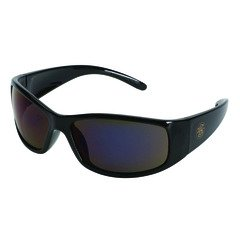 Black Smith and Wesson Elite Safety Glasses - Smoke, Anti-Fog (12/Pack) - R3-21303