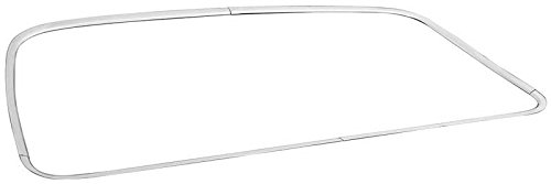68-72 GTO 2-Door Coupe Rear Window Molding, 4pc Set