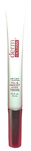 Derm Exclusive am/pm Fill & Freeze Wrinkle Treatment - 0.5 fl. oz./15 mL by Derm exclusive
