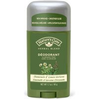 Nature's Gate Organics Deodorant, Chamomile & Lemon Verbena, 1.7 Ounces (Pack of 4) - Lemon Verbena Natures Gate