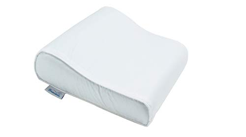 Dreamsweet Travel Size Firm US Memory Foam Contour Pillow for Cervical, Neck and Bed Comfort