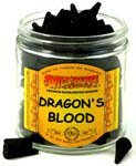 Dragon's Blood - 100 Wildberry Incense Cones