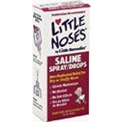 Medtech Laboratories Little Noses Saline Spray/Drops, 3 Count