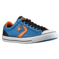 Converse Men's Star Player EV OX Mykonos Blue Skateboarding Shoes 139868C (9 D(M) - Converse Truck
