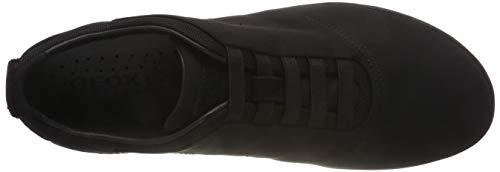 F Baskets black Geox Nebula Enfiler Homme U Noir C9997 tE0wp