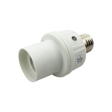 AC180-250V Light&Sound Control Motion Sensor Socket E27 Base Bulb Adapter Lampholder - Lighting Accessories Bulb Adapters - 1E27 lamp holder