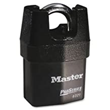 "Rekeyable Padlock, Pro Series, High Security, 2.125""Wide, BK, Sold as 1 Each"