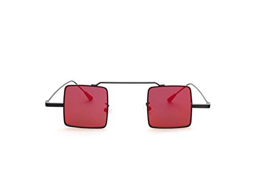 viajar de gafas sol cuadrado de del marco sol la UV400 mujeres para de conducir las Black Gafas hombres los las de Huyizhi de para Gafas Guay de protección Yt6UnF