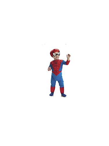 Spiderman Classic Toddler Costume Size