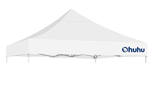 Ohuhu Gazebo Canopy Top Cover Replacement ONLY Pop Up 10 X 10 Feet Straight Leg Canopy Tent - Canopy Top