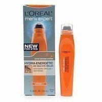 L'Oreal Paris Men's Expert Hydra-Energetic Ice Cold Eye Roller, 0.33 Oz (Pack of 2)
