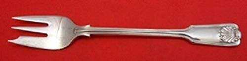 """Fiddle and Shell By Spaulding and Co. Sterling Silver Oyster Fork 6"""""""