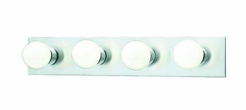 Thomas Lighting Sl7402-78 Four-Light Bath Fixture, Brushed Nickel