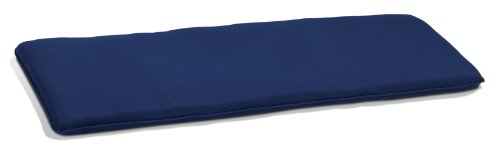 Oxford Garden 5-Foot Backless Bench Cushion, Navy Blue