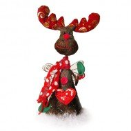 Christmas Moose Fairy Tree Topper Tree Decorations Amazoncouk