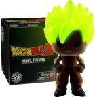 Saiyan Goku Funko vinyl figure, Glow in the Dark Mystery Mini GameStop Exclusive Dragon ball z collectible, 3 inches