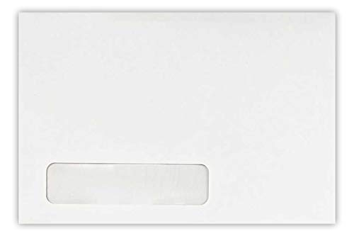 - 6 x 9 Laser Safe Window Envelopes - 24lb. Bright White (Laser Safe) (50 Qty) | Sealed by Peel & Press Strip | Perfect for mailing Personal Letters, Invitations, Announcements and More! | 4820-200-50