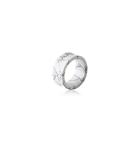 (Holy Plug Body Piercing Jewelry Single Uv Acrylic Marble Double Flared Tunnel 000g 0000g 9/16 5/8 13/16 7/8 0g)