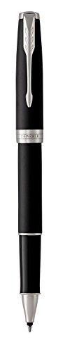 PARKER Sonnet Rollerball Pen, Matte Black Lacquer with Palladium Trim, Fine Point Black Ink (1931523) by Parker (Image #4)