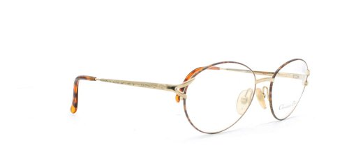 Christian Dior - Monture de lunettes - Femme Marron Brown Gold