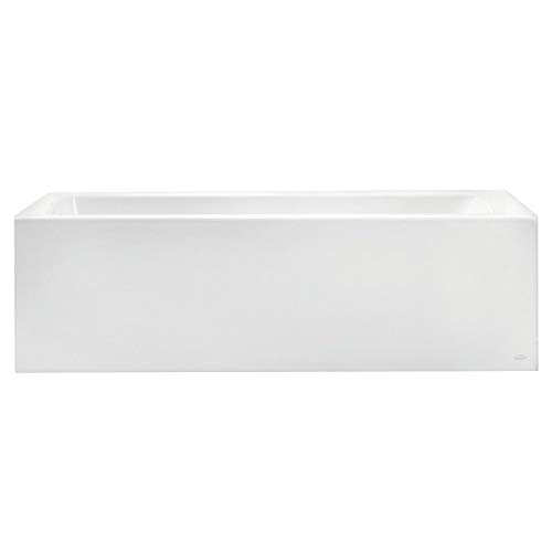 American Standard 2574202.020 Studio 60x32-inch Bathtub - Above Floor Rough-in with Built-in Apron - Left Drain, White