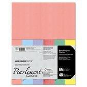 WAU45124 - Neenah Paper Astrobrights Glisten Pearlescent Colored Paper
