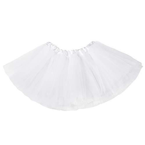 belababy Baby Girls Skirt White Tutu Dress Up Costume, 0-24Months]()