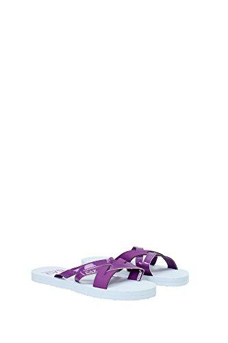 Emporio violeta Sandalias Morado vestir para de mujer Armani Morado ar0q6a