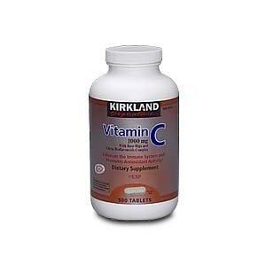 Kirkland Signature Vitamin C with Rose Hips, 1000mg