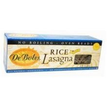 De Boles Pasta Rice Lasagna, 10-Ounce Boxes (Pack of 12)