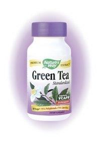 Le thé vert standardisé 170 mg. 60 VegCapsules